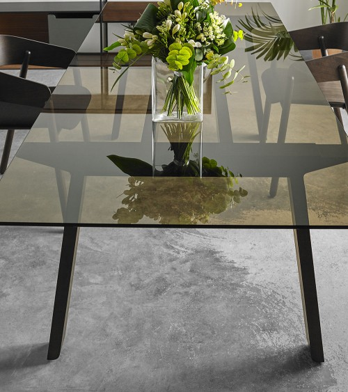 Mesa Mitis Glass ambiente