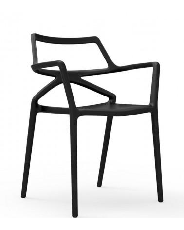 Silla Delta Chair de Vondom negra